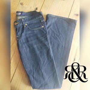 ROCK & REPUBLIC Kurt Flare Jeans Women's Sz 27